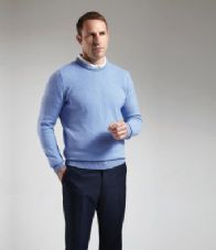 GM11 Glenmuir Crew Neck Lambswool Sweater